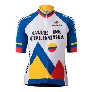 Camisa Manga Corta Café De Colombia Para Mujer