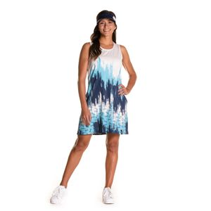 Vestido Onda Para Mujer