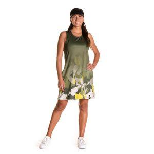 Vestido Giungla Para Mujer