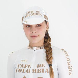Gorra Colombia D'Oro White Unisex