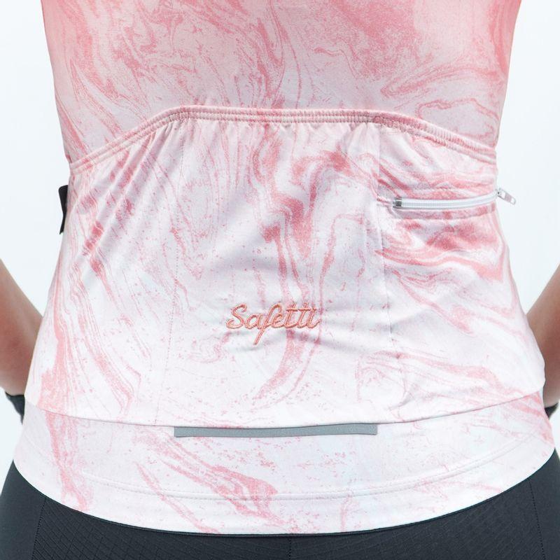 Camisa-manga-corta-Vincitore-Coral-para-mujer