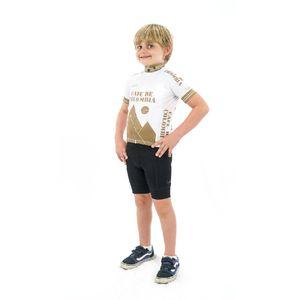 Camisa Colombia Doro White para Niños