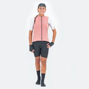 Chaleco de Mujer Ciclismo Vivace Rosa