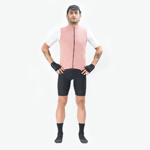 Chaleco de Hombre Ciclismo Vivace Rosa