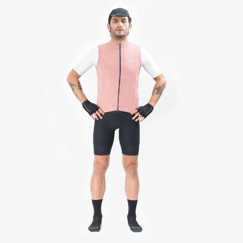 Chaleco-de-Hombre-Ciclismo-Vivace-Rosa
