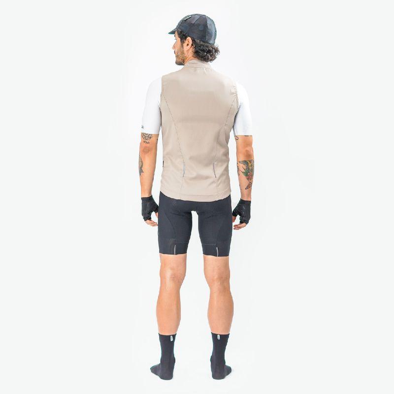 Chaleco-de-Hombre-Ciclismo-Vivace-Beige