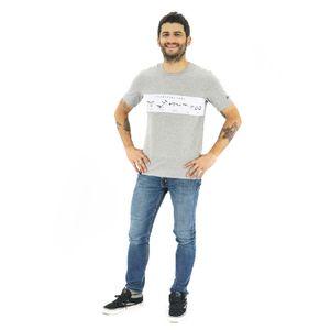 Camisa Manga Corta Bars para Hombre