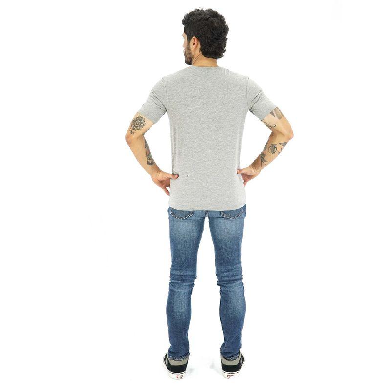 Camisa-manga-corta-Bars-para-Hombre-S