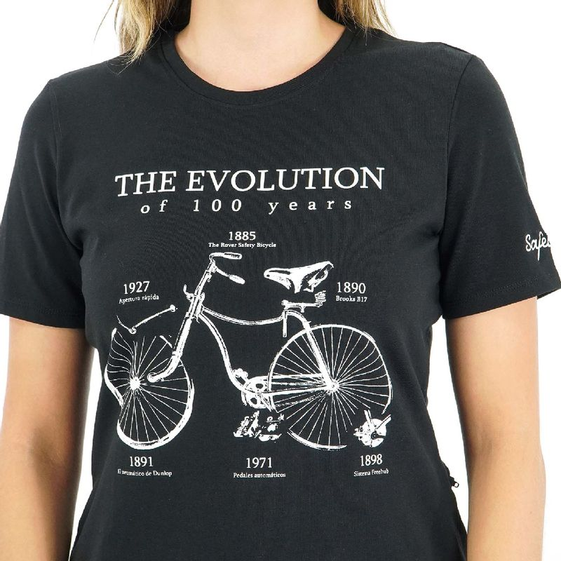 Camisa-manga-corta-Evolution-para-Mujer-XS