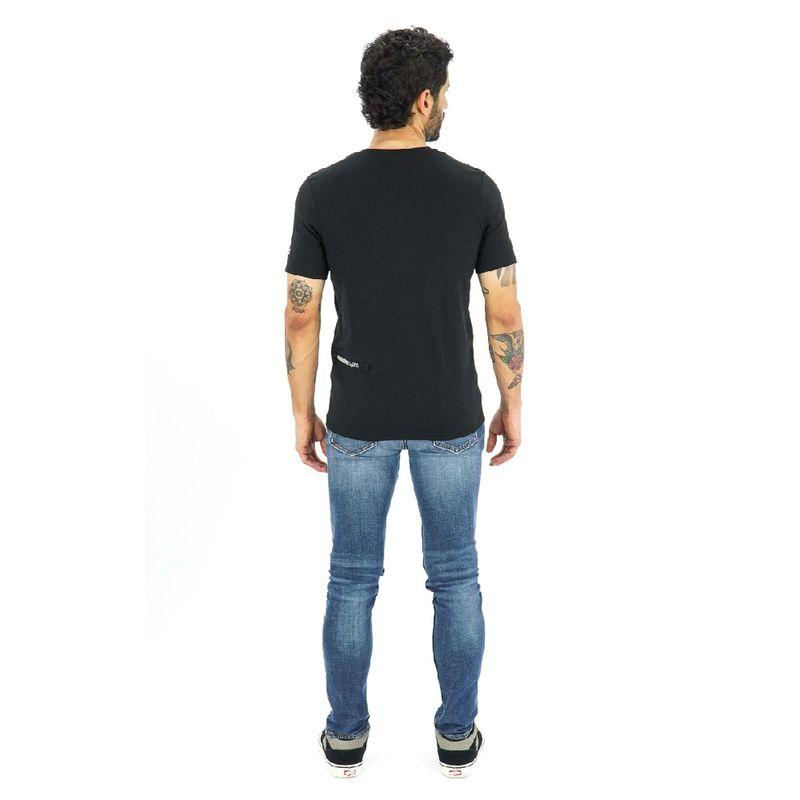 Camisa-manga-corta-Evolution-para-Hombre-S