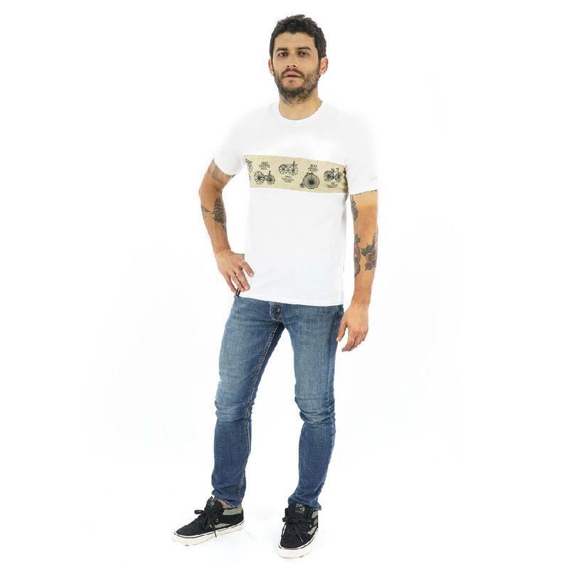 Camisa-manga-corta-History-para-Hombre-S