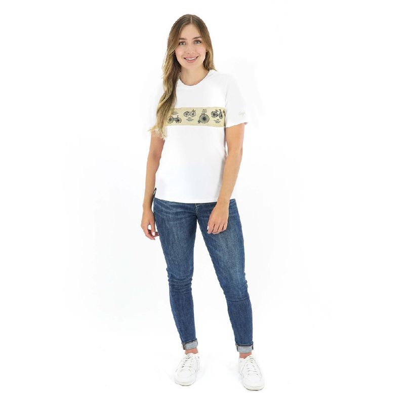 Camisa-manga-corta-History-para-Mujer-XS