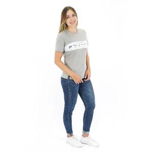 Camisa Manga Corta Bars para Mujer